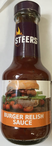 Steers Burger Relish Sauce