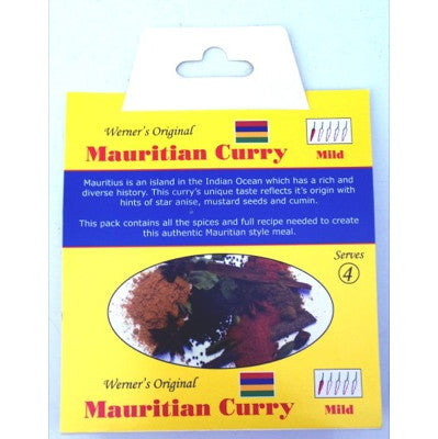 Werner's Original Mauritian Curry