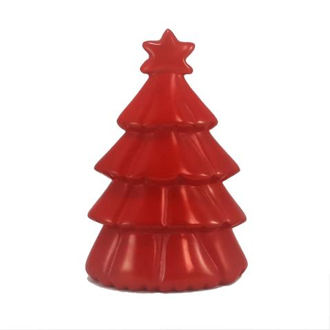 Soapstone Christmas Tree Red