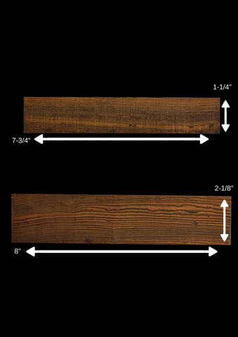 Bocote Bridge Blanks