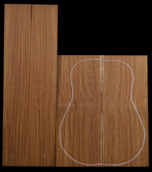 Chechen Guitar Back & Side Set
