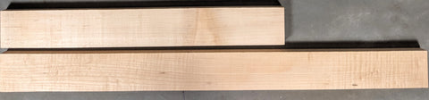 2nd grade hard Maple 1 x 3 Quartersawn Neck Blanks