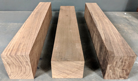 Black walnut 3 x 4 Neck Blanks