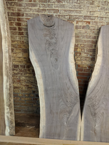 8/4 Live-Edge Walnut Slab-001