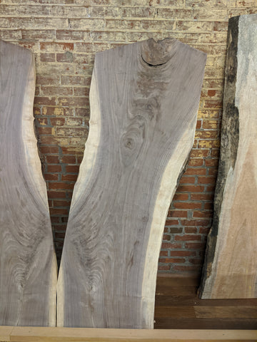 8/4 Live-Edge Walnut Slab-002