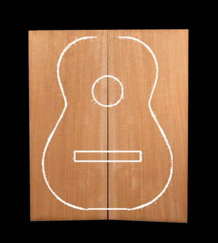 H. Mahogany Acoustic Top - Plain