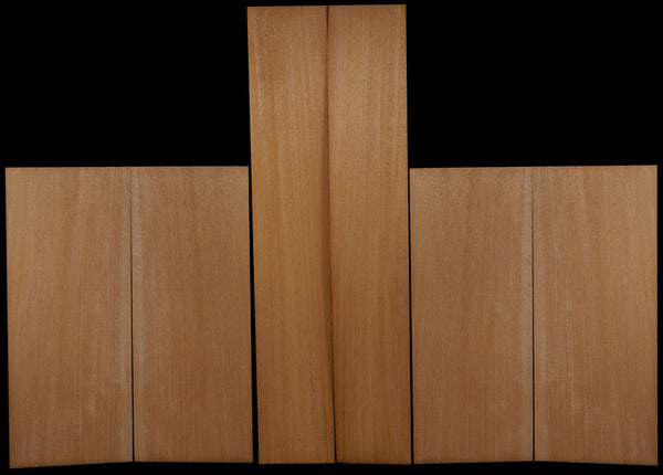 Mahogany Top/Back/Side Set - Plain