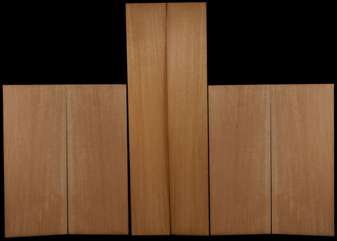 Honduras Mahogany Back, Top & Side Set - Plain