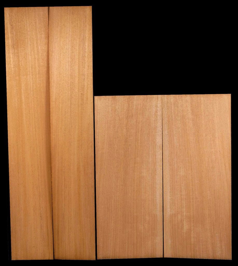 Honduras Mahogany Back & Side Set - Plain