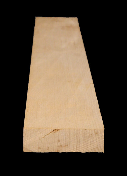 Hard Maple 1 x 3 Neck Blanks