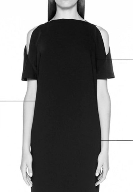 MADISON AVE MODERNA BIAS SKIRT