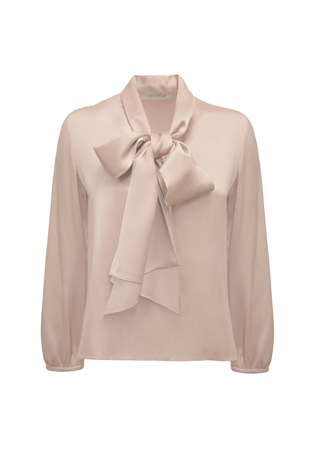 TRIBECA GLAM TIE NECK SHIRT