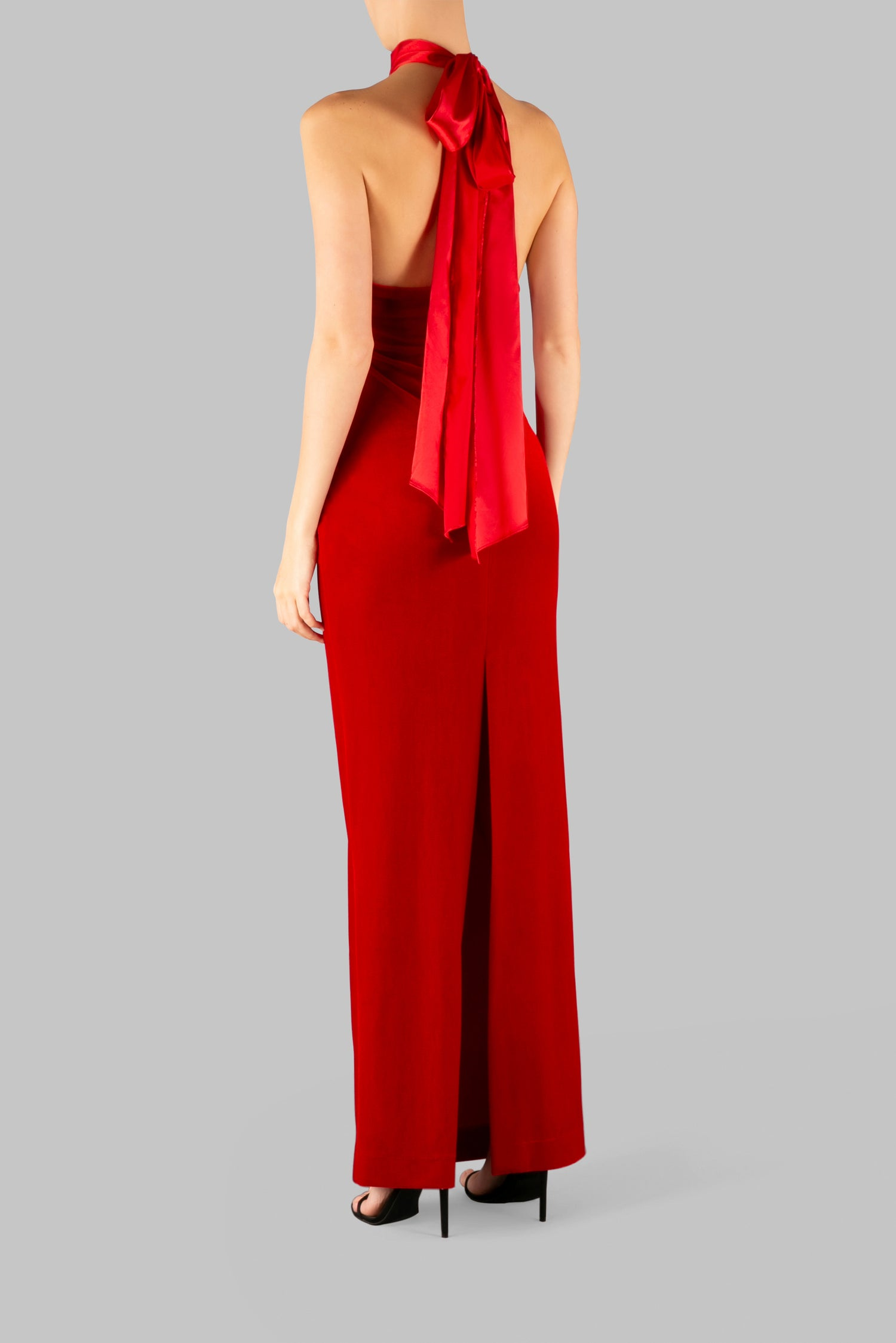 THE I LOVE YOU HALTER GOWN