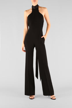 BOUND TO SHINE HALTER JUMPSUIT