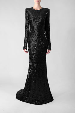CHAMPAGNE AND CAVIAR GOWN