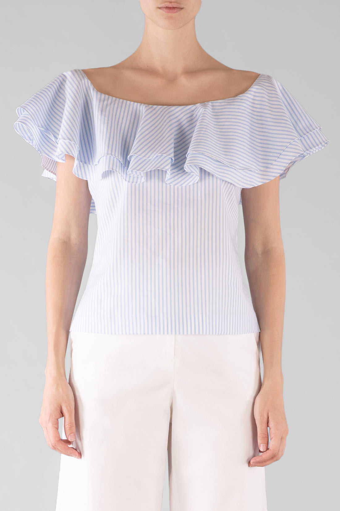BABY BLUES FRILL TOP