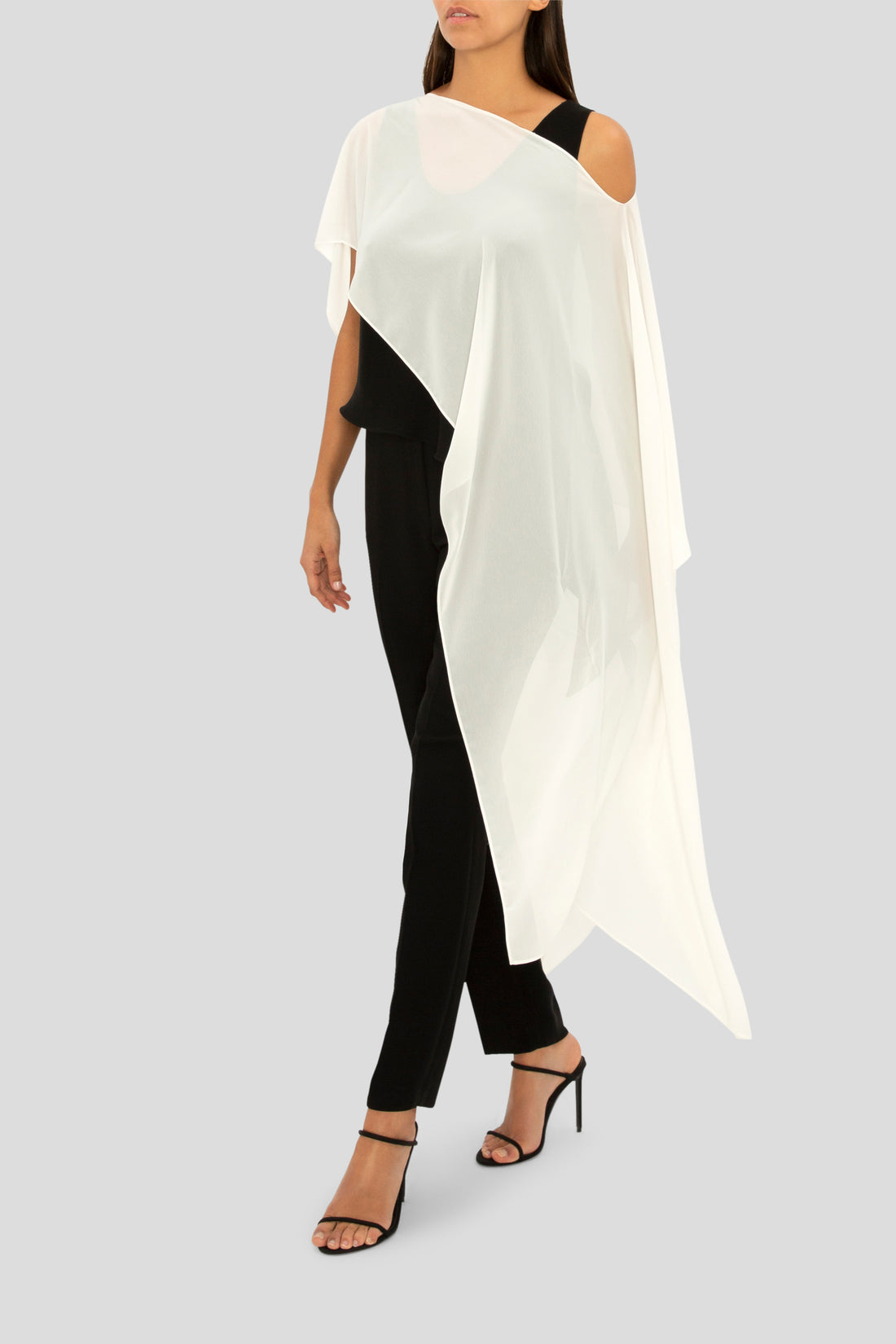 CREAM GEORGETTE GATSBY COVER UP