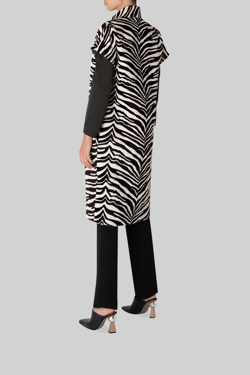 WILD ABOUT THE PRINT COAT