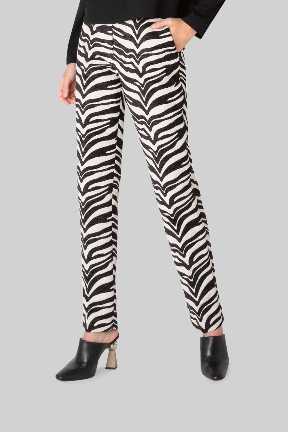 WILD ABOUT THE PRINT PENCIL PANT