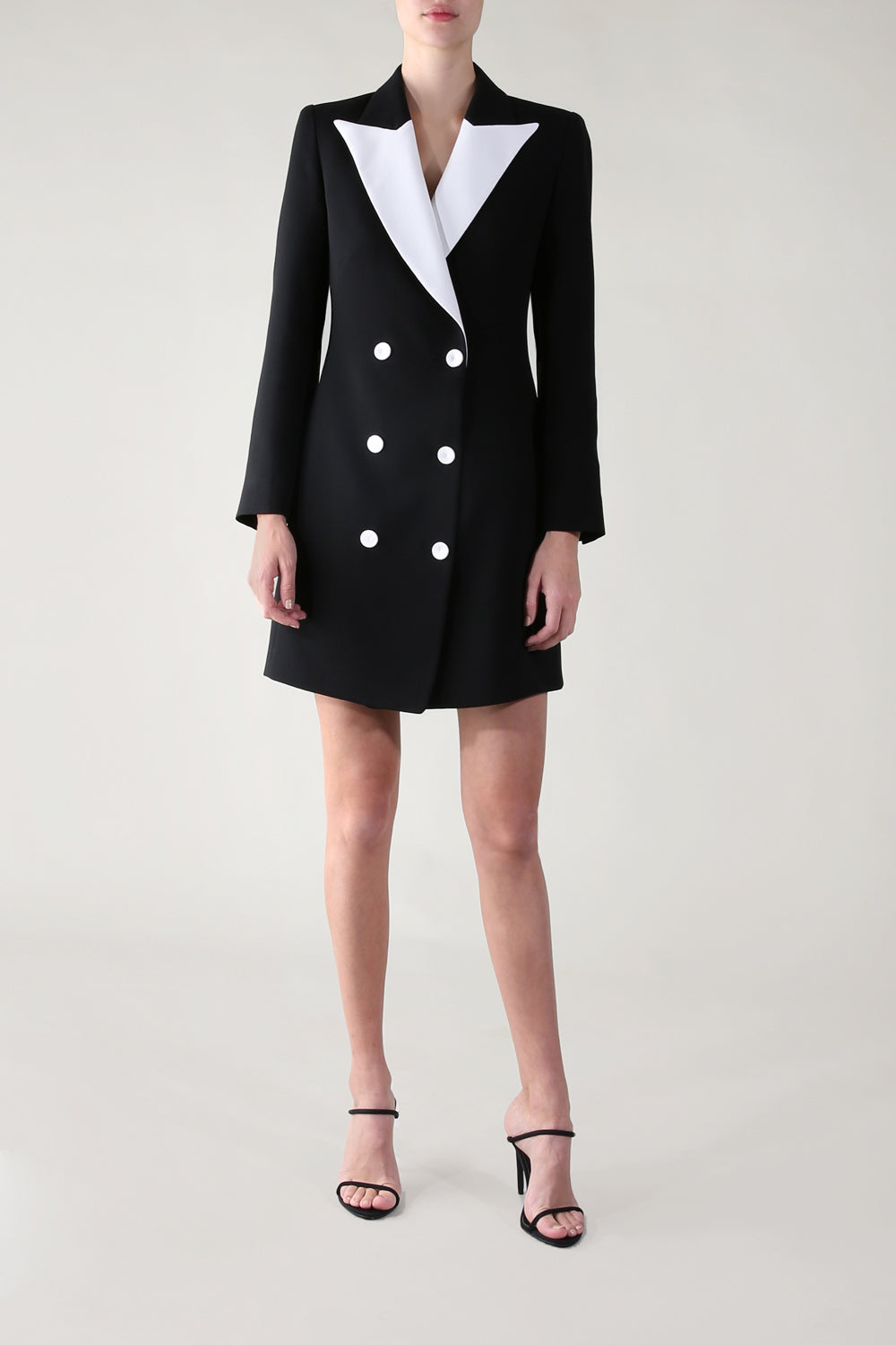 OPPOSITES ATTRACT TUX COAT DRESS
