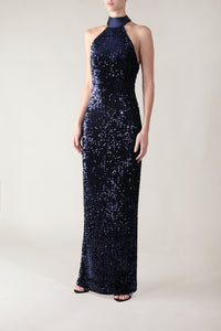 ROYAL ENGAGEMENT HALTER GOWN