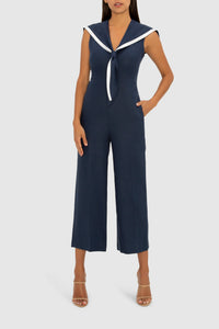 THE NAVY SAIL AWAY WITH ME JUMPSUIT