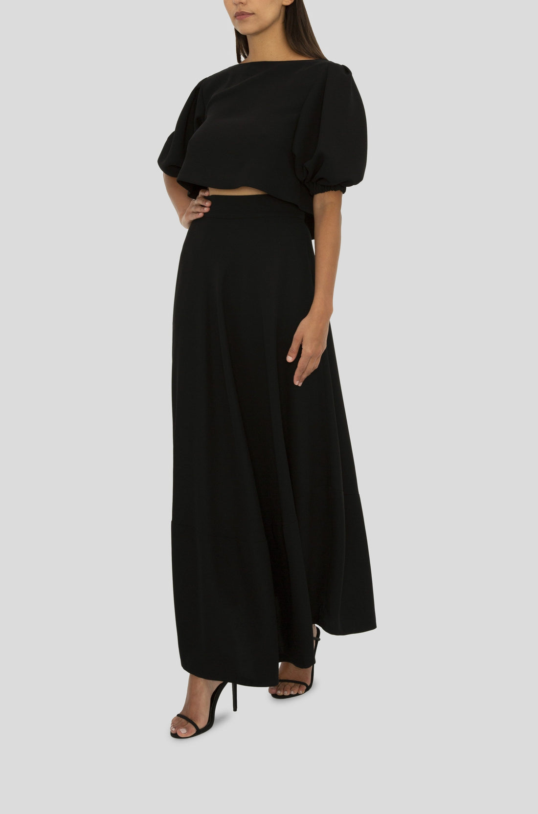 BLACK GIGI MAXI SKIRT