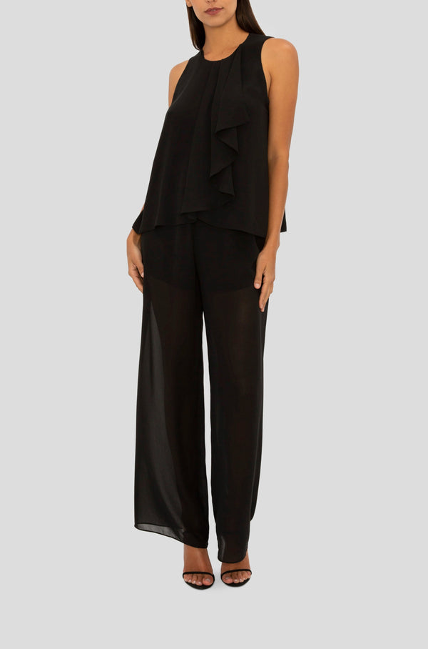 BLACK WHIMSICAL PANT