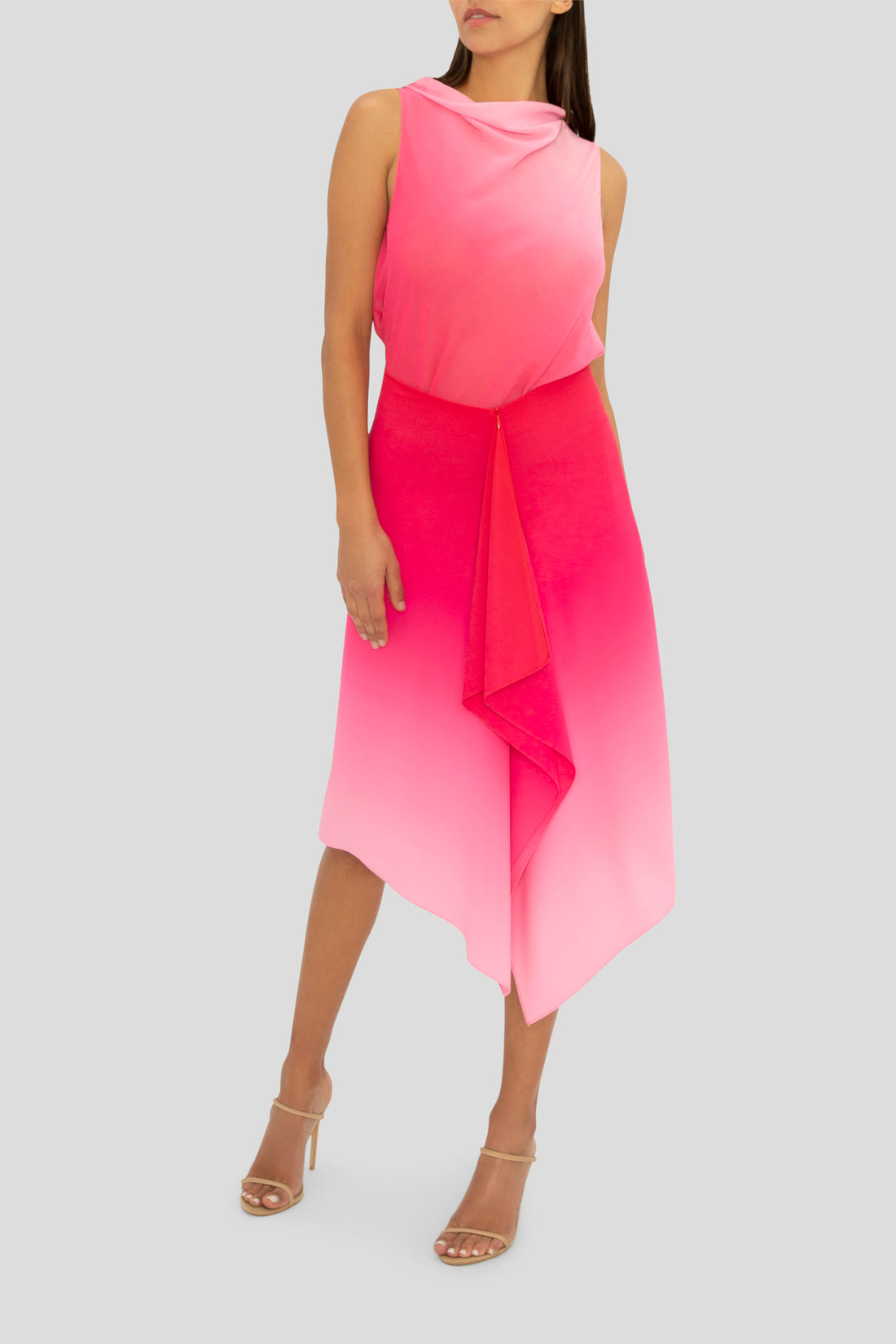 THE PASSION PINK OMBRE FLIRT SKIRT