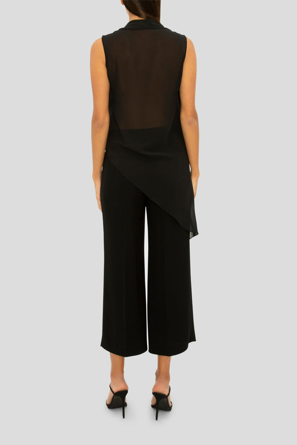THE BLACK DREAM CROP PANT
