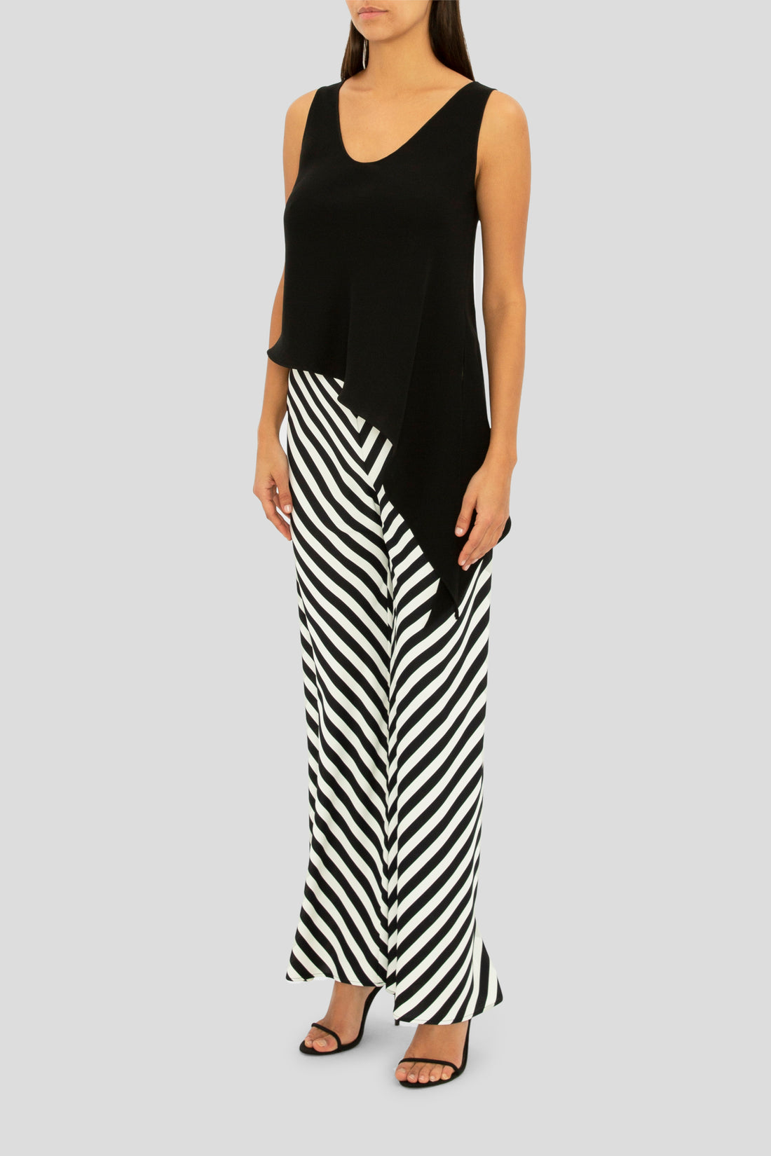 THE BLACK STRIPE FLIRT PALAZZO PANT