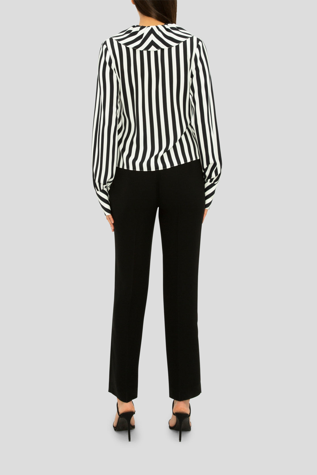 THE BLACK STRIPE FLIRT SHIRT