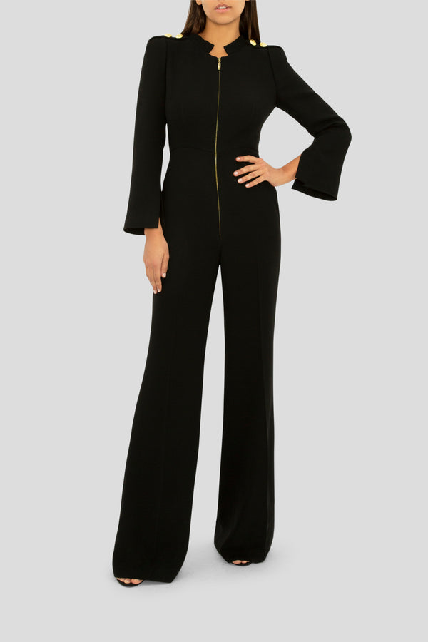 THE BLACK TAILORED FOR YOU JUMPSUIT