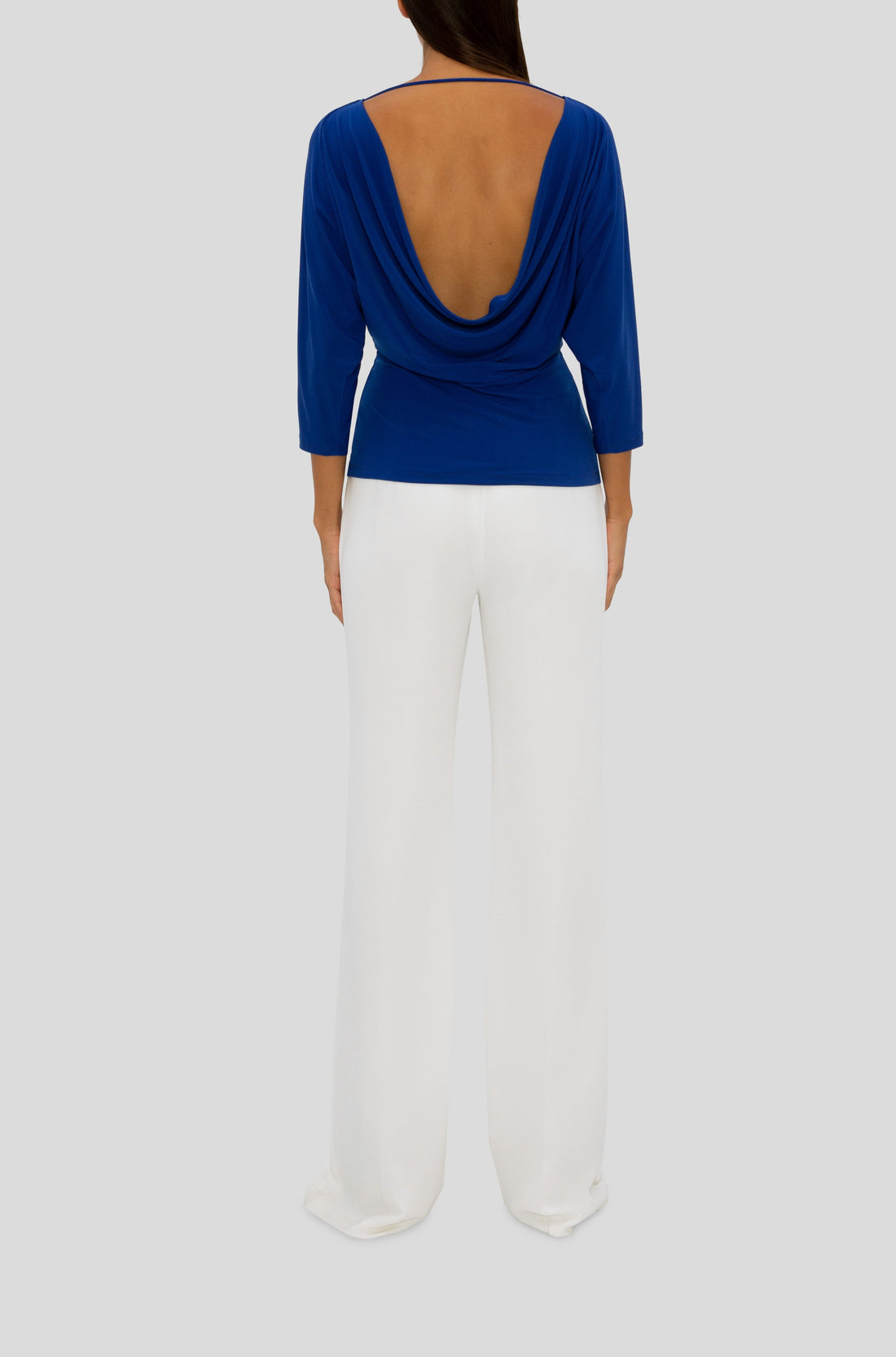 THE COBALT BACK BEAUTY TOP