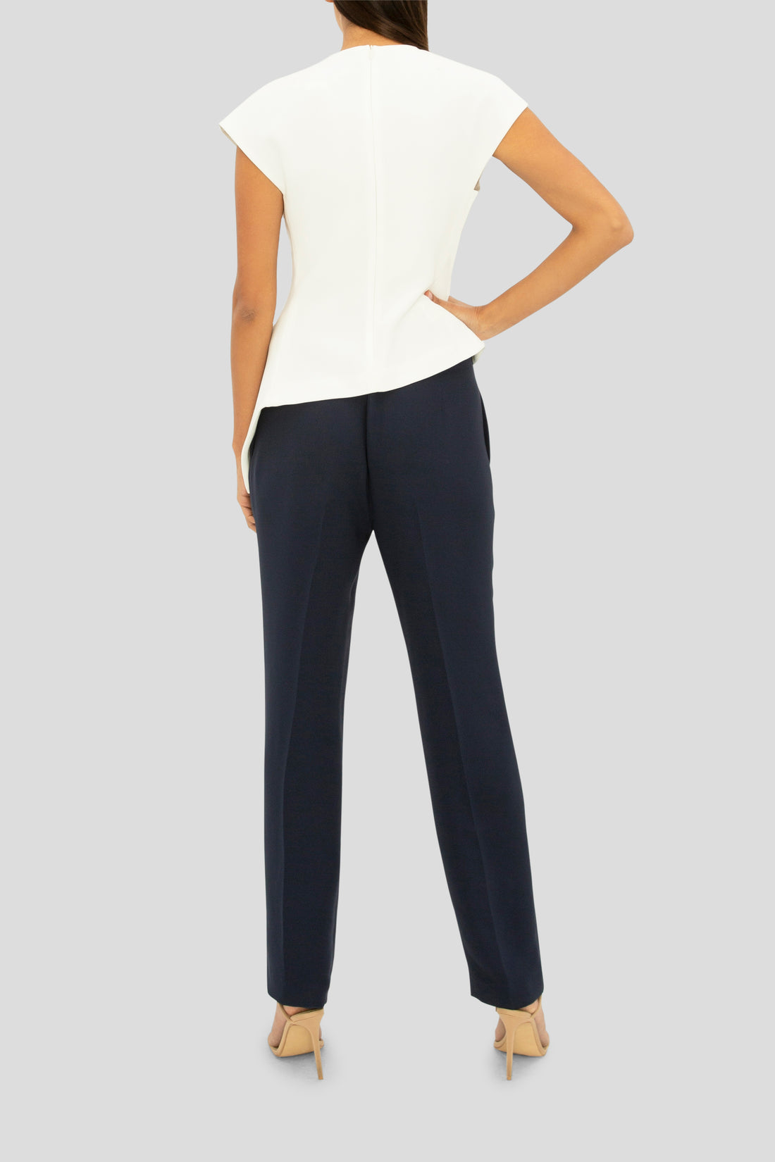 THE NAVY DESIRE SLIM PANT