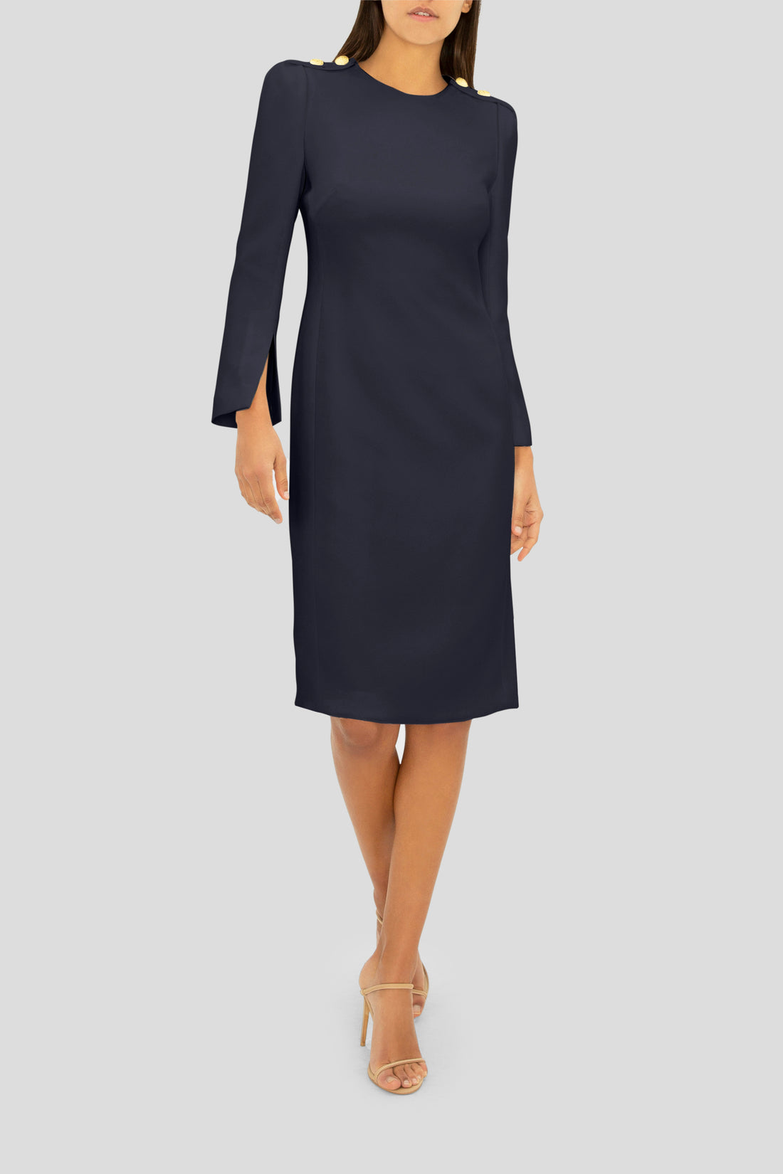 THE NAVY ELEGANCE DRESS