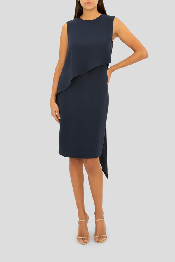 THE NAVY SERENITY SHIFT DRESS