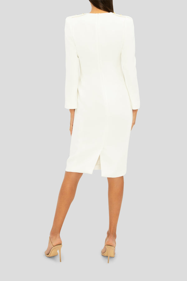 THE WHITE ELEGANCE DRESS