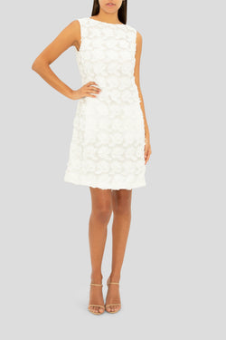THE WHITE LOVE IN BLOOM CHEMISE