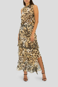 THE WILD FOR YOU TIERED MAXI SKIRT