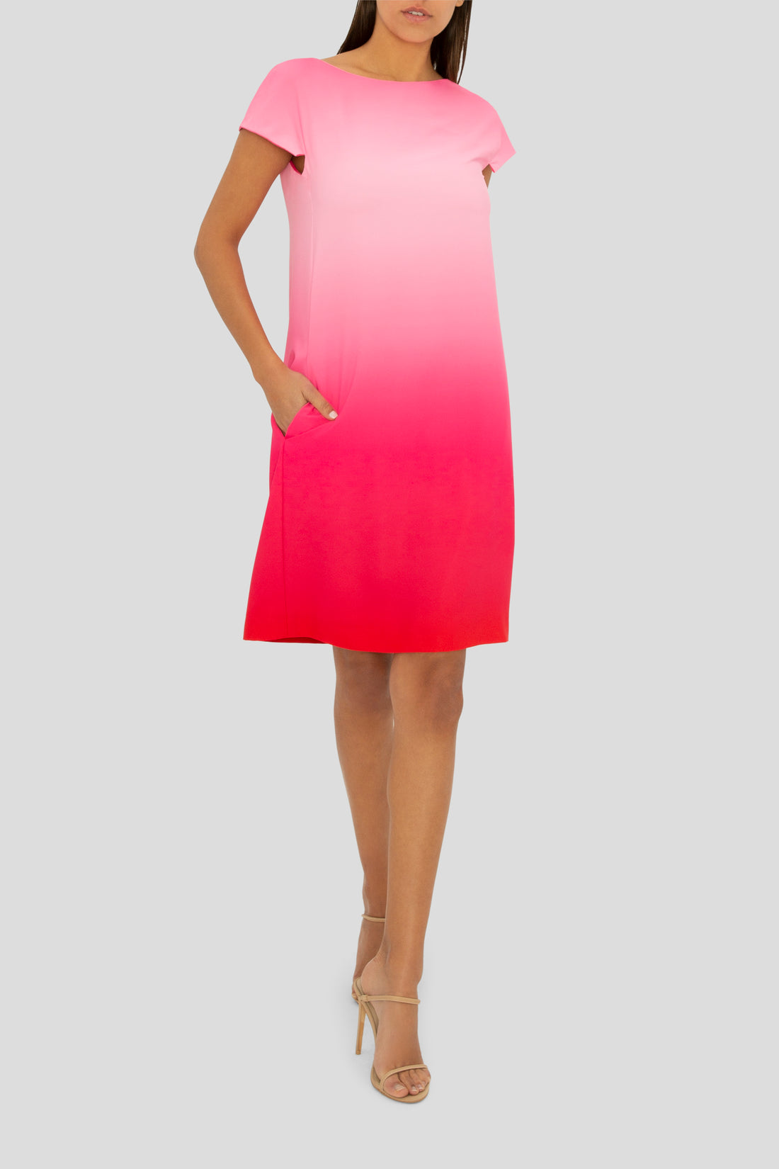 THE PASSION PINK OMBRE DRESS