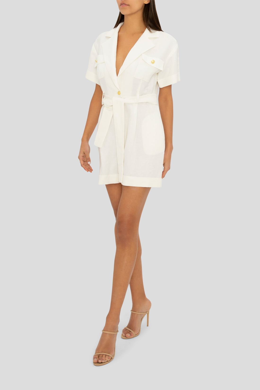 THE WHITE PLAYSUIT