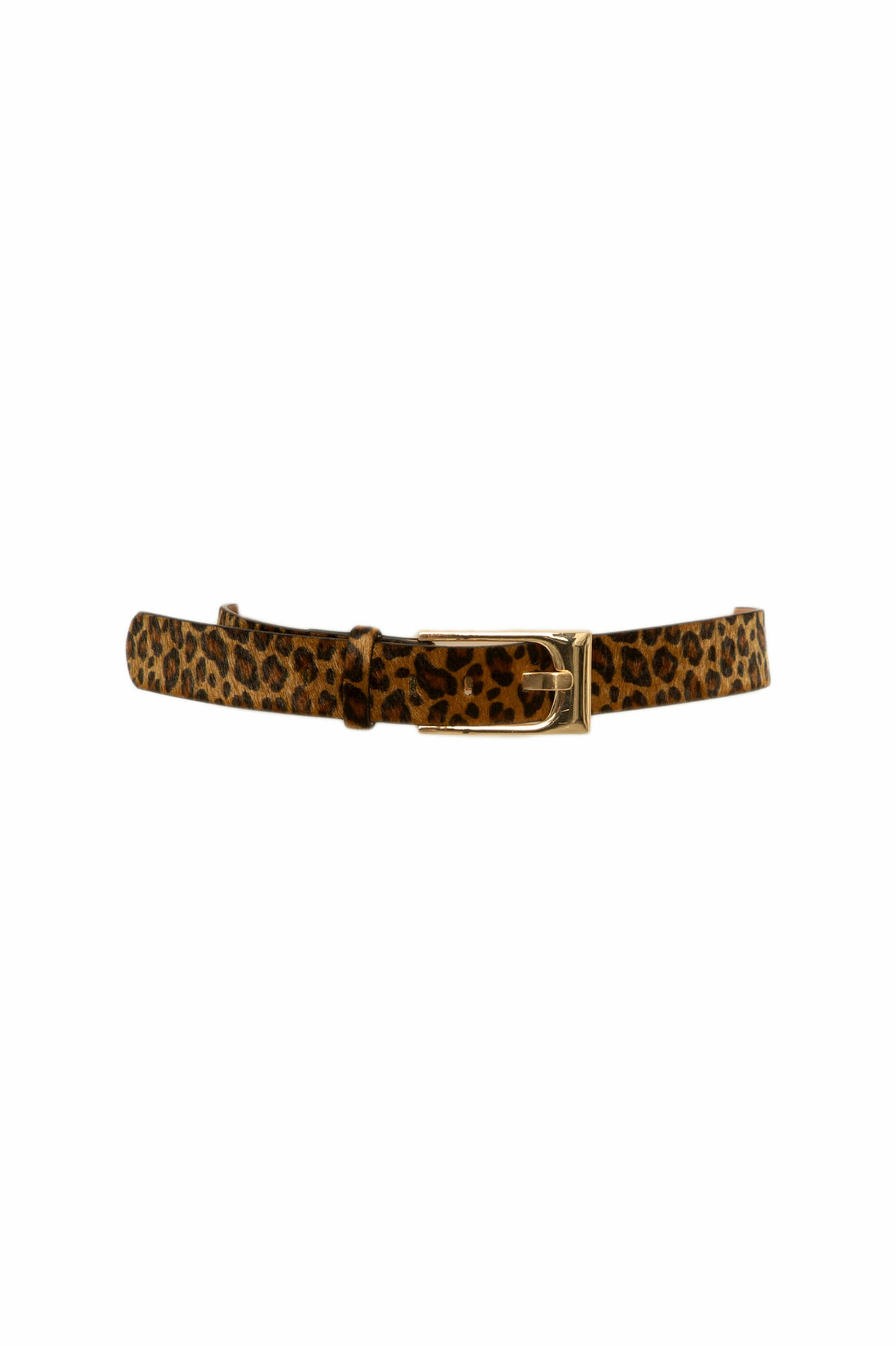 WILD FOR YOU FAUX FUR BELT