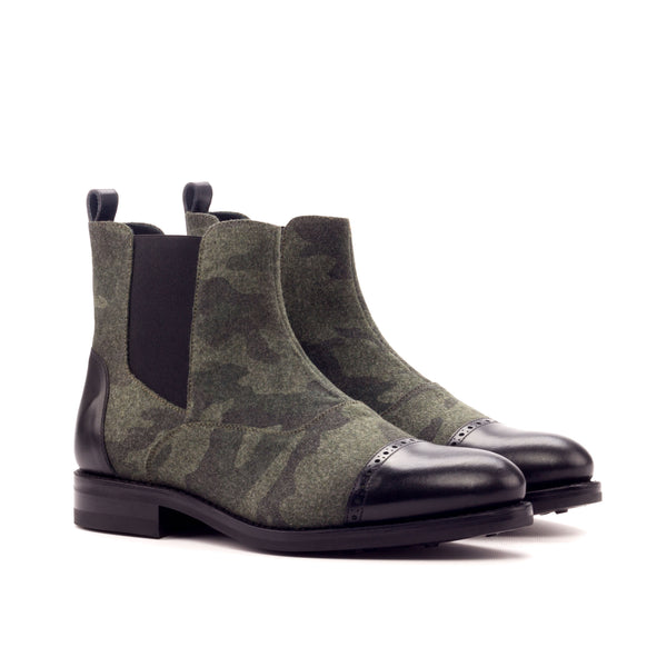Customizable Chelsea Cap Toe Boot