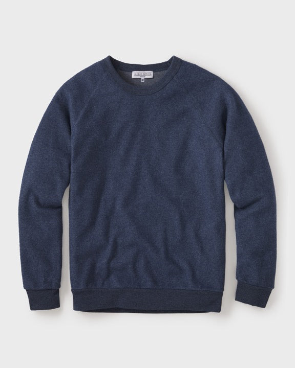 Warm Textured Eco Fleece Sweatshirt