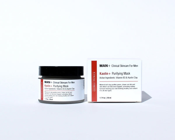 Kaolin+ Purifying Clay Mask - Skincare for Men 1.7 fl oz/50ml.