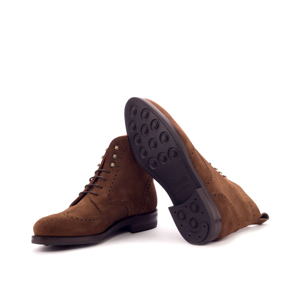 Customizable Military Brogue Boot