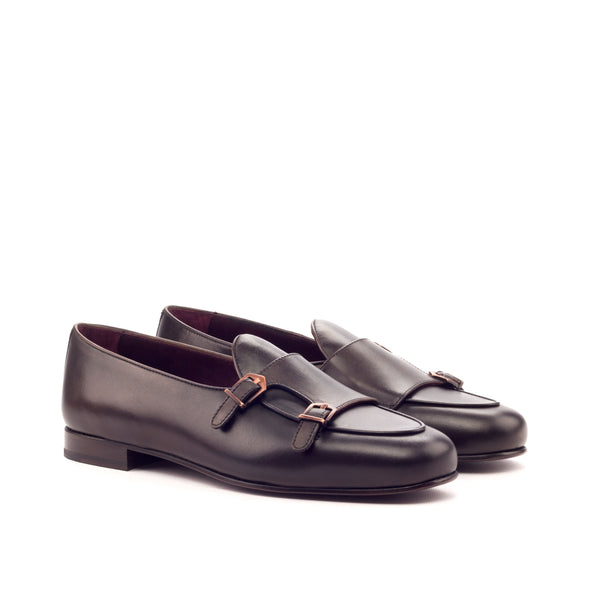 Customizable Classic Double Monk Strap Loafer