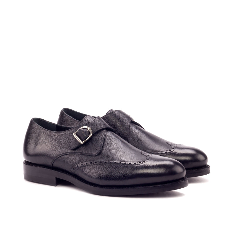 Customizable Single Monk Strap Shoe