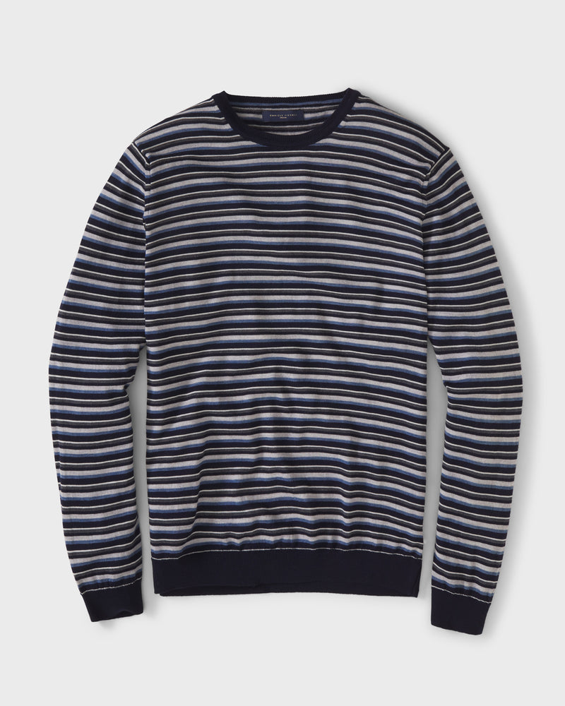 Multi-Striped Pullover By Daniele Fiesoli